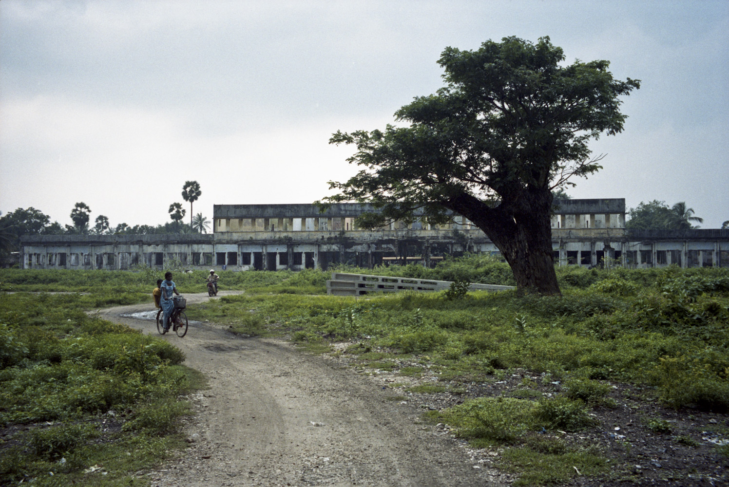 L'ancienne gare de train