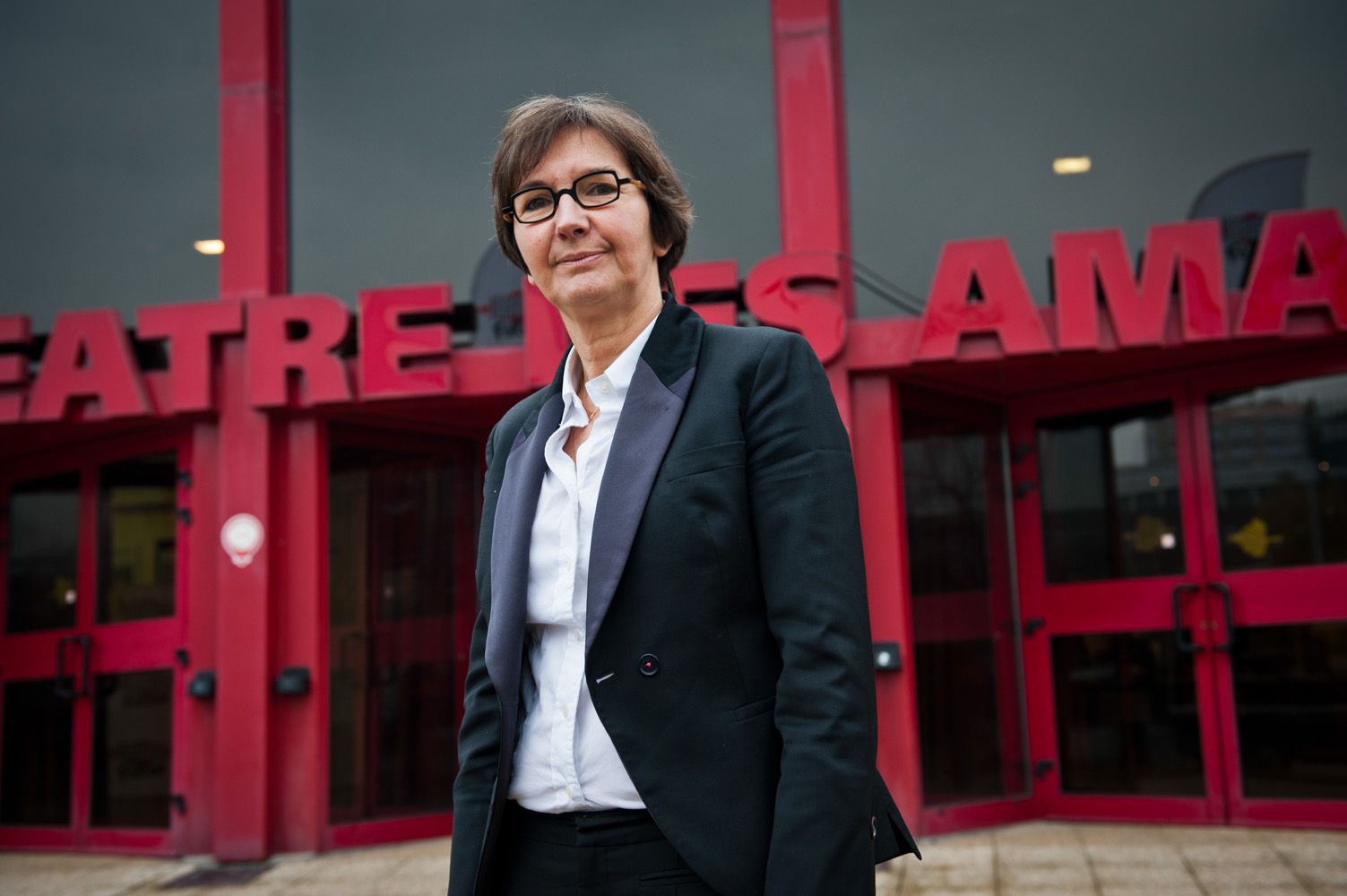 La secrétaire d'Etat chargée du Commerce, de l'Artisanat et de la Consommation, Valérie Fourneyron, lors du Forum Ile-de-France 2030.