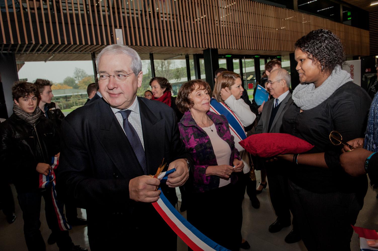 Inauguration du Lycée Fustel de Coulanges (Massy)